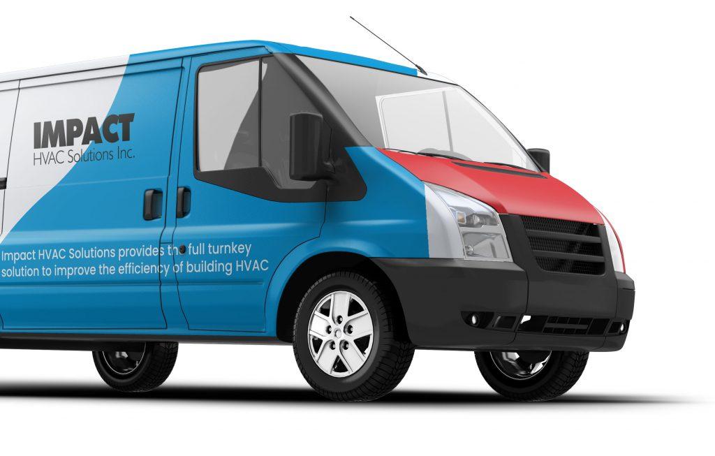 Impact HVAC Solutions Service Van